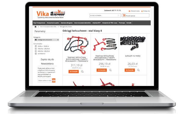 Odciągi łańcuchowe w sklepie internetowym