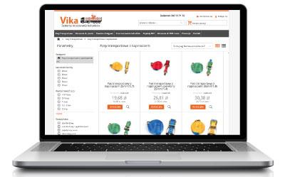 Pas transportowy z napinaczem w sklepie internetowym Vika
