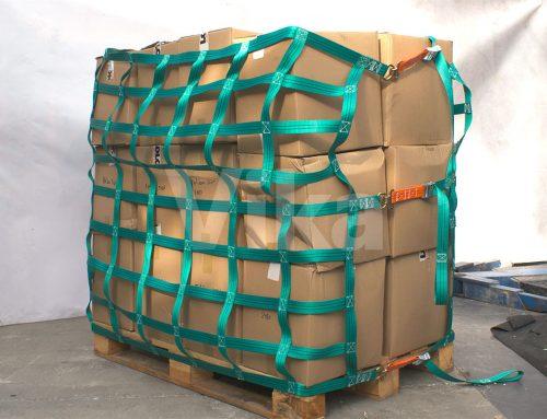 Siatki zabezpieczające do owijania ładunku na paletach