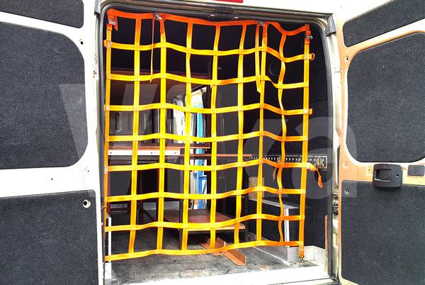 Siatka zabezpieczająca ładunek - pionowa